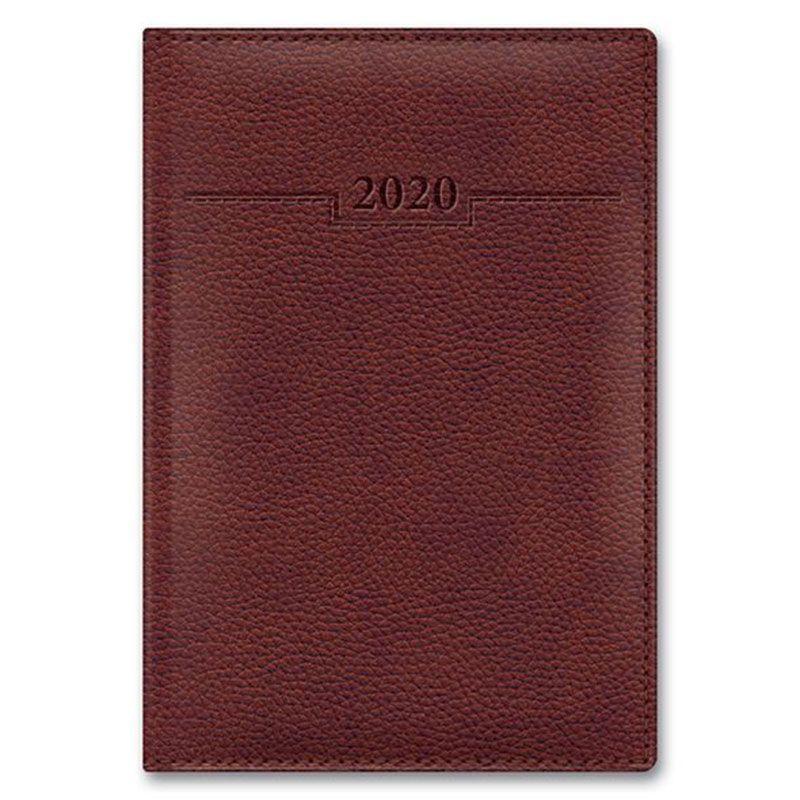 Ежедневник А5 2021г Armonia Elefant коричневый