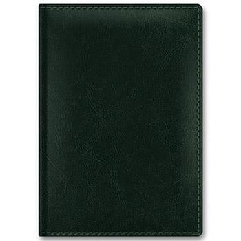 Ежедневник А6 2021г Sarif Classic зеленый