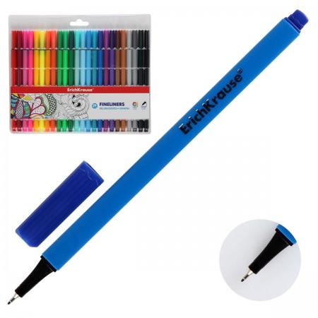 Ручки линеры 24 цв EK