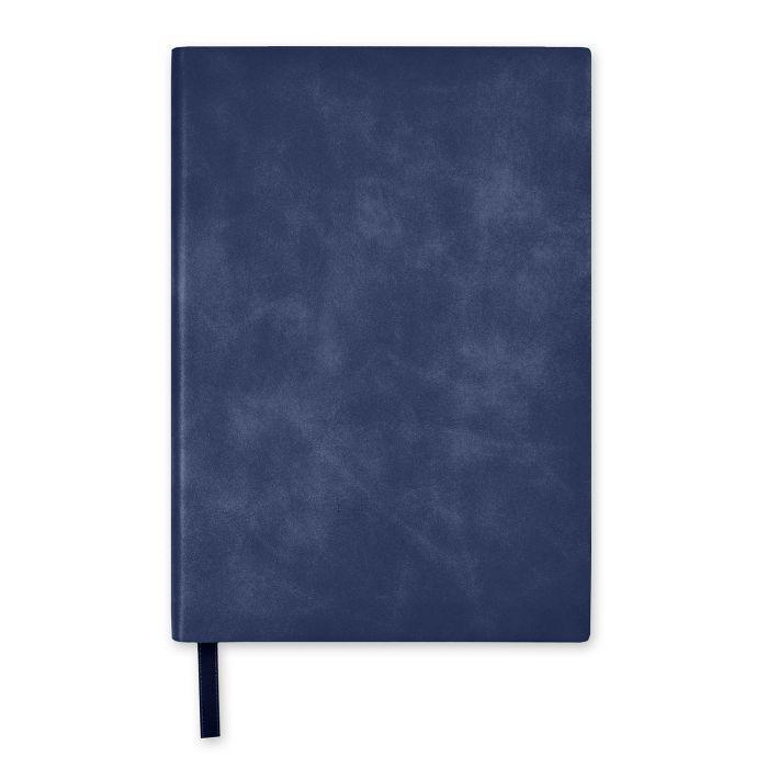 Ежедневник А5 2021г Escalada Манчестер тёмно-синий