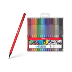 Ручки линеры 18 цв EK