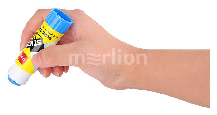 Клей-карандаш 15гр Deli Stick UP исчезающий