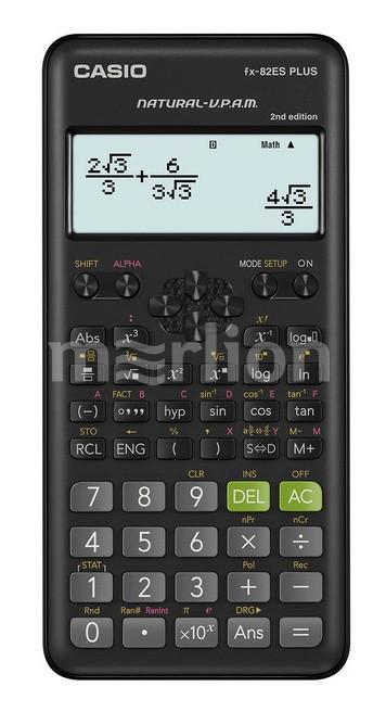 Калькулятор научный 12 разр. Casio черный