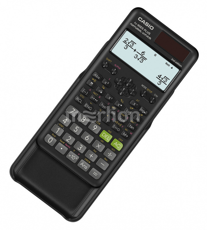 Калькулятор научный 10+2 разр. Casio черный