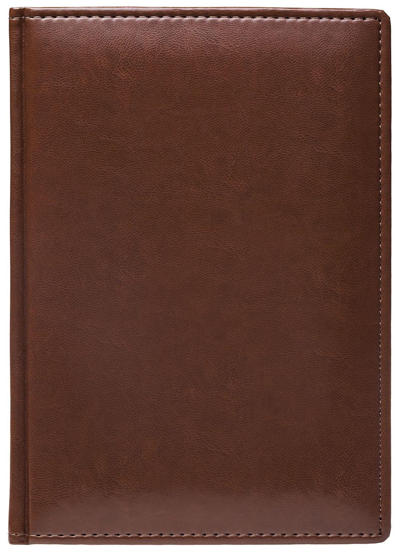 Ежедневник А5 2021г Caprice Prestige коричневый