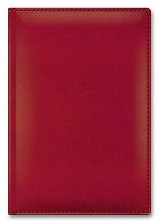 Ежедневник А5 2021г Sarif Classic красный