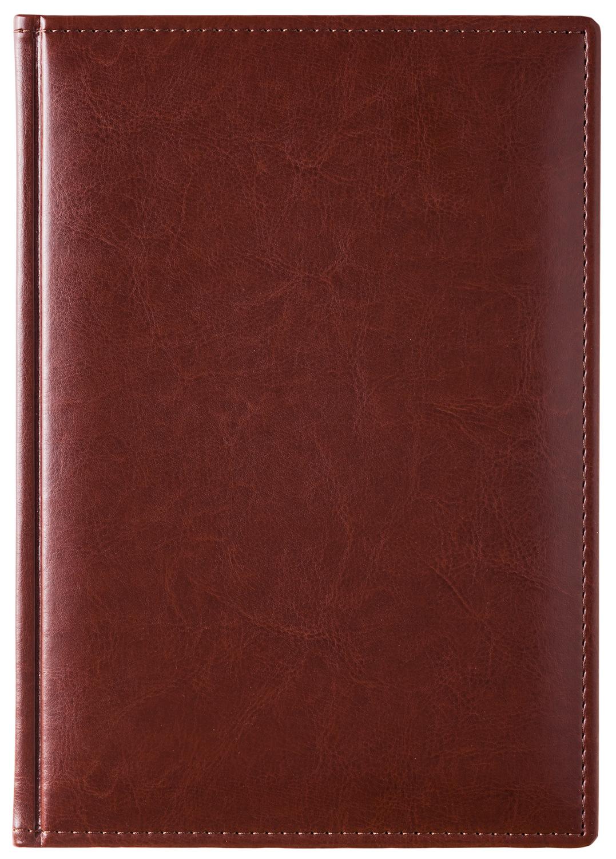 Ежедневник А5 2021г Sarif Classic коричневый