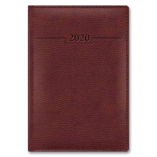 Ежедневник А6 2021г Armonia Elefant коричневый