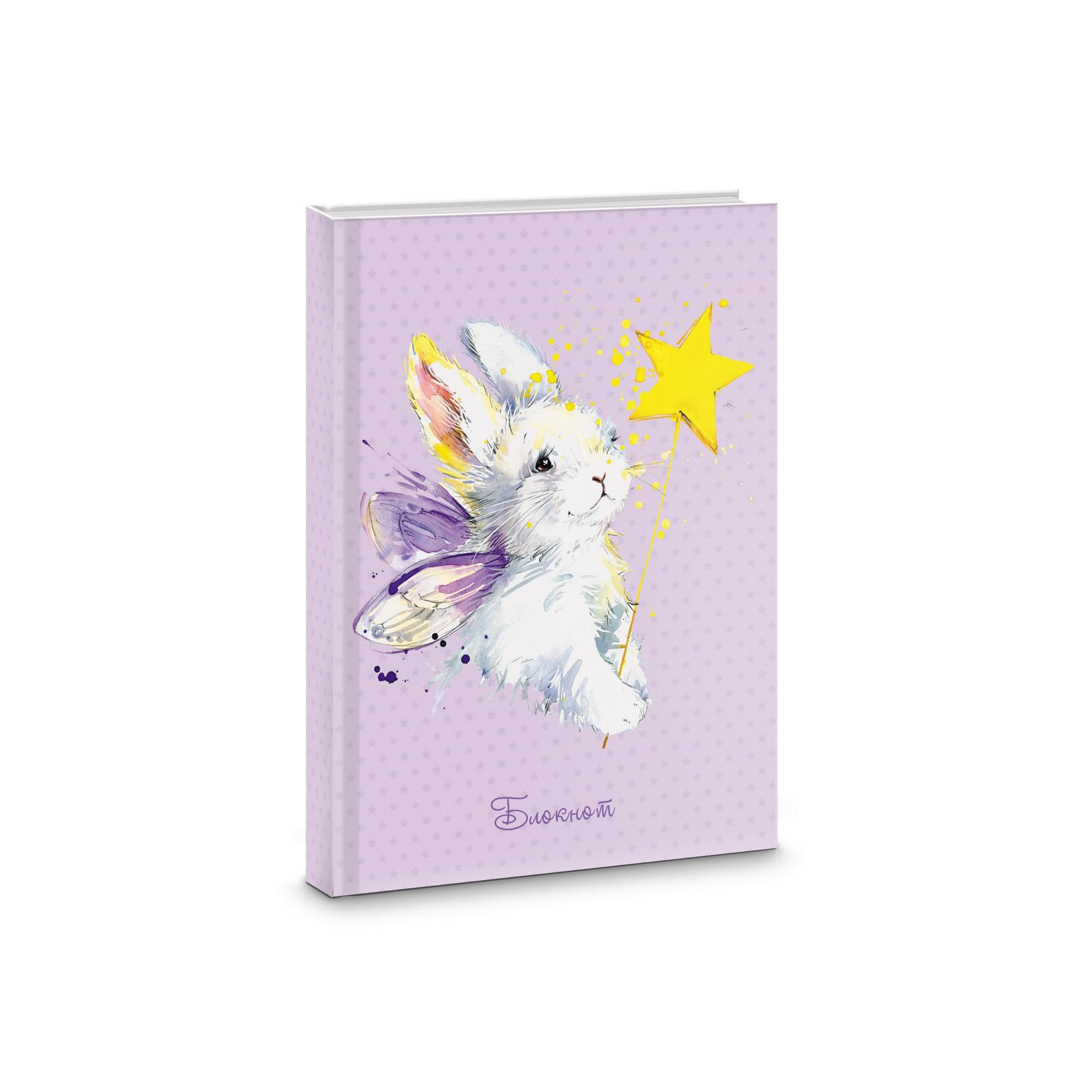 Зап. книжка А6 48л тв лин Волшебный зайка