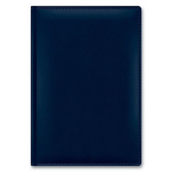 Ежедневник А5 2021г Caprice Thermo Silwer Темно-синий