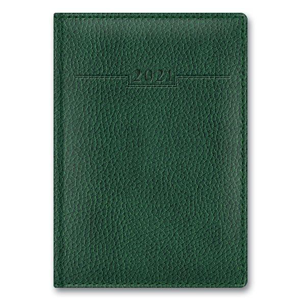 Ежедневник А6 2021г Armonia Elefant Зеленый