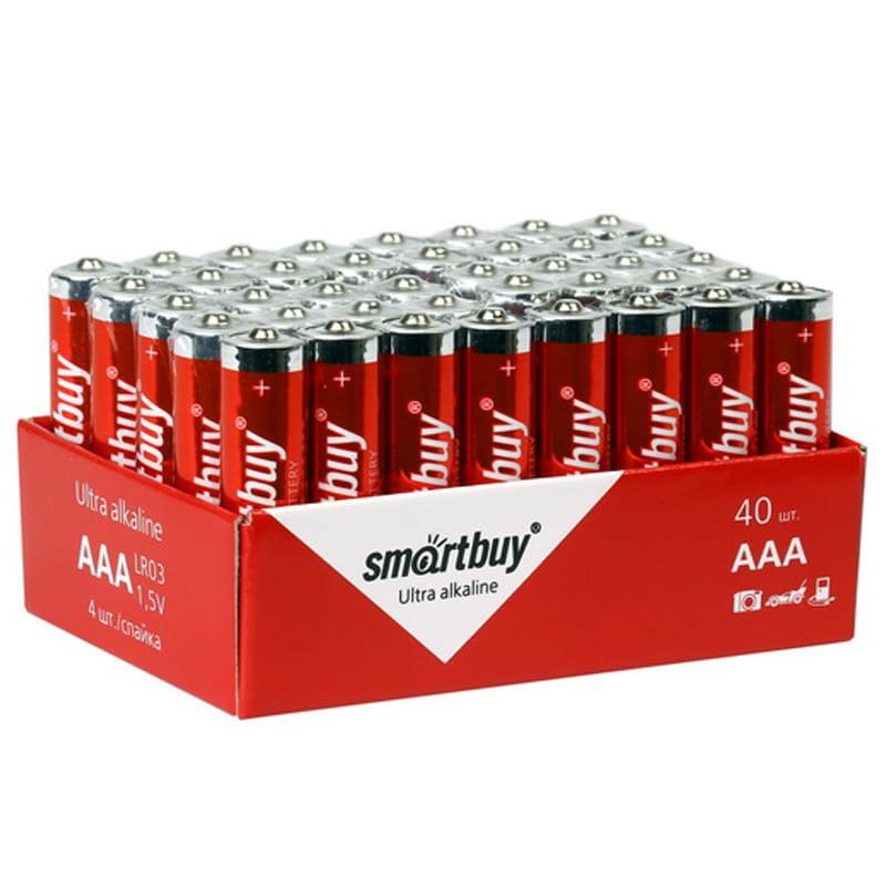 Батарейка AAA мизинч Smart Buy 1,5V алкалиновая (1 ШТУКА)