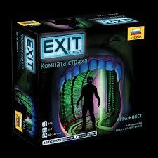 Игра Настольная EXIT. Квест Комната страха