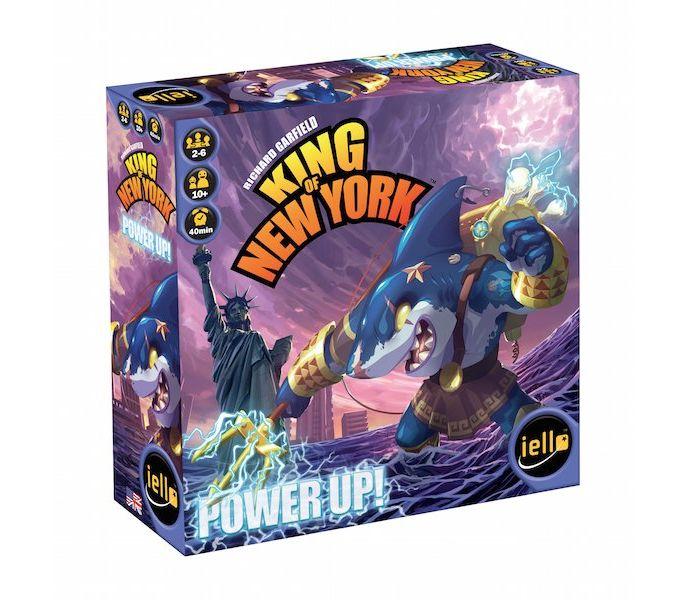 Игра Настольная Повелитель Нью-Йорка (King of New-York). Подзарядка