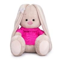 Мягконабивная BUDI BASA Зайка Ми в розовом свитере 18 см