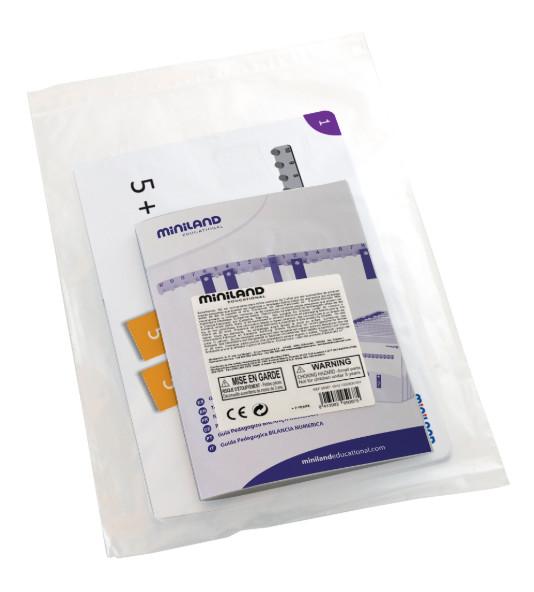 Набор 40 карточек с заданиями для весов (арт.95030)