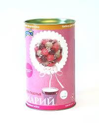 Творч Топиарий Розовое чудо