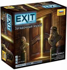 Игра Настольная Exit. Квест Загадочный музей
