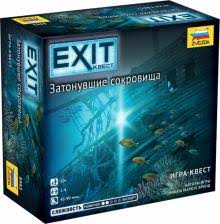 Игра Настольная Exit. Затонувшие сокровища
