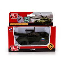 Машина Танк T-90 12см, башня вращается