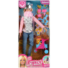 Кукла 29см София в на прогулке с питомцем,с акс.,руки и ноги сгибаются
