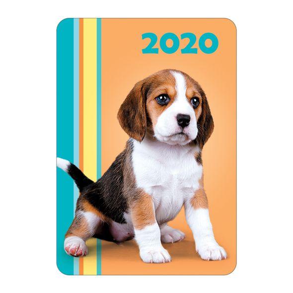 Календарь карманный 2020 Кк7 059742 Щенки ассорти