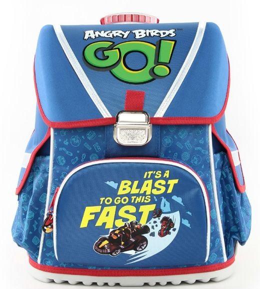 Ранец Hatber Angry Birds Go! синий