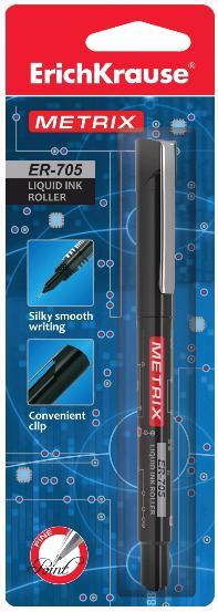 Роллер EK Metrix 0,6мм черный