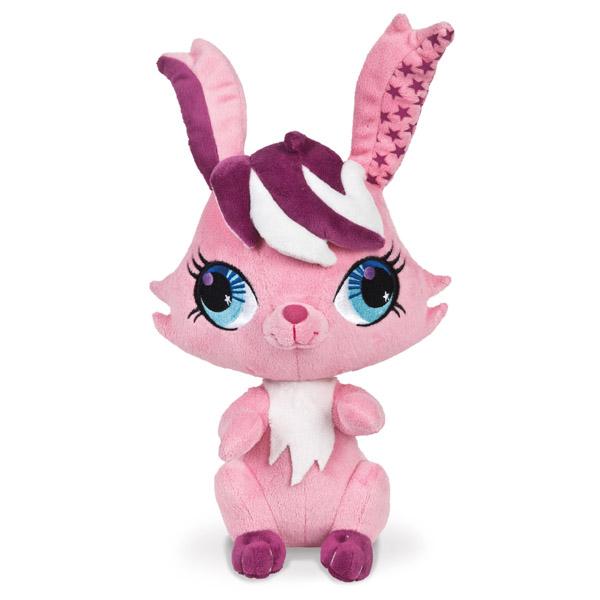 АКЦИЯ19 Игрушка мягконабивная Littlest Pet Shop Кролик 20 см. озвуч.