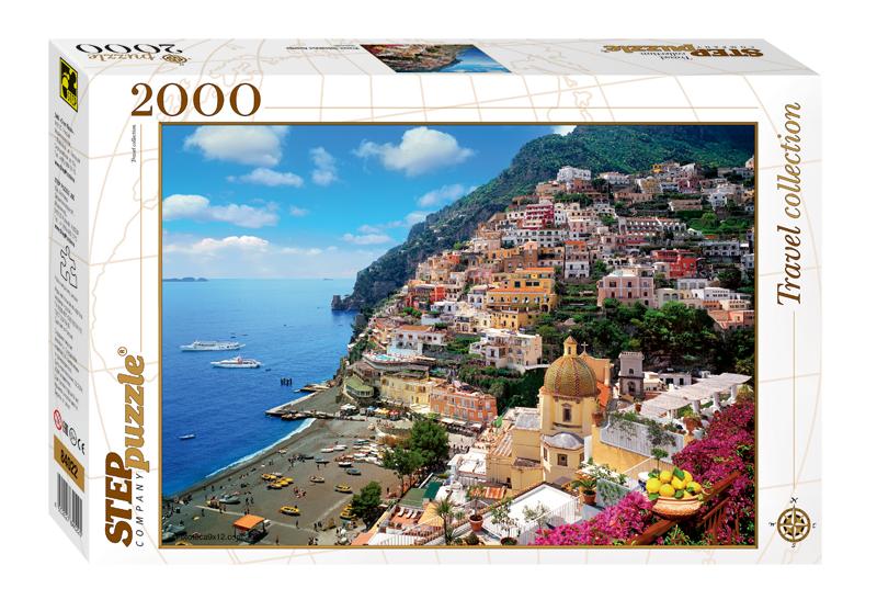 Пазл 2000 Step Италия. Побережье Амалфи