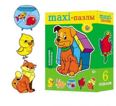 Пазл Maxi Домашние любимцы