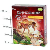 АКЦИЯ-20 Игр Набор для исследования Динозавр Трицератопс 3D-скелет