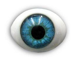 Глазки 10шт для игрушек голубые 12,5*8,5мм