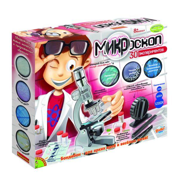 Набор для экспериментов Микроскоп (30 экспериментов)