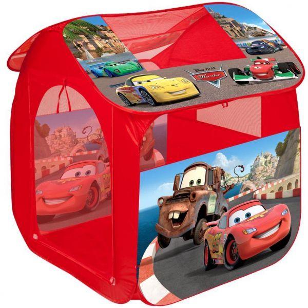 Палатка детская Cars 2 в сумке 80*83*105