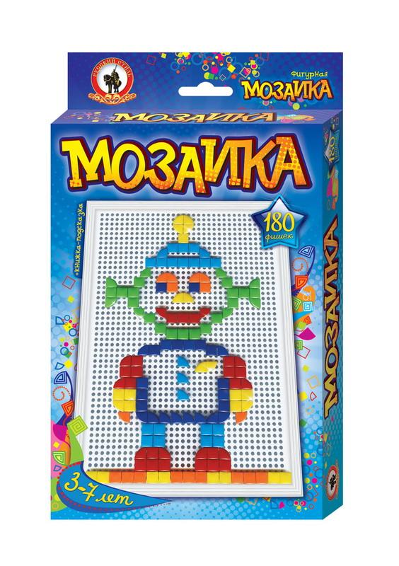 Игра Мозаика Classic Большая плата 180 эл. треуг. + квадр. (фигурная) Ро