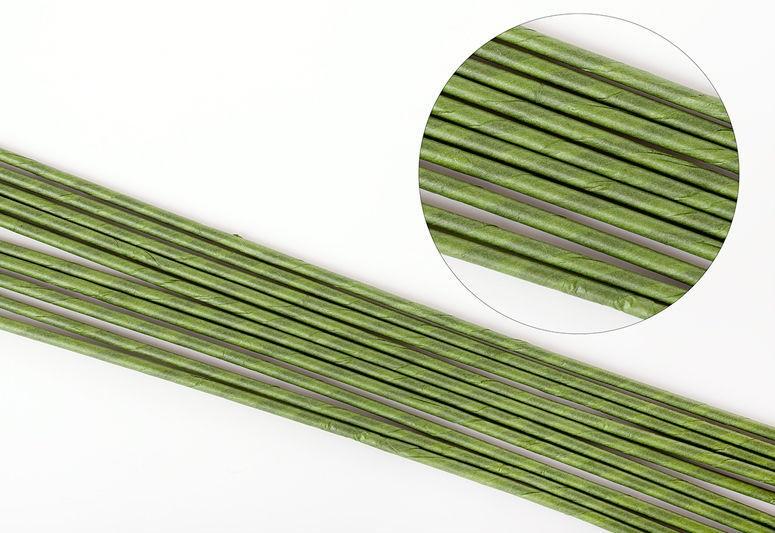Проволока для цветов зеленая №14 45см 100шт