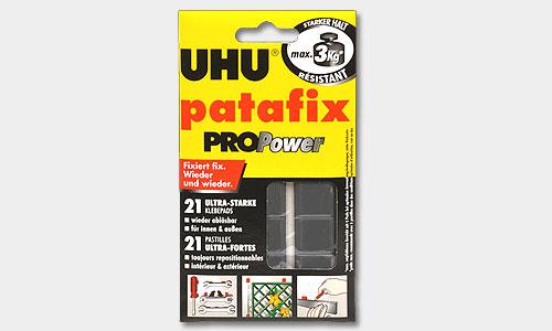 Клеевые подушечки UHU Patafix черные