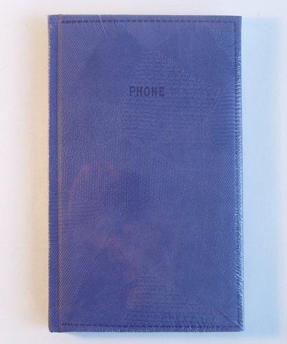 Телефонная книжка А5 Bazar сиреневая