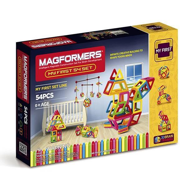 АКЦИЯ-20 Игр Конструктор магнитный Магформерс My Fist Magformers 54 дет