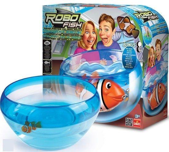 набор Роборыбка с аквариумом