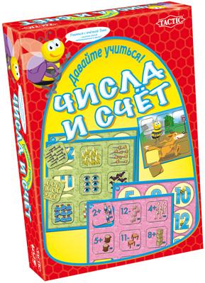 Игра АКЦИЯ19 Настольная игра Учим цифры Числа и счет