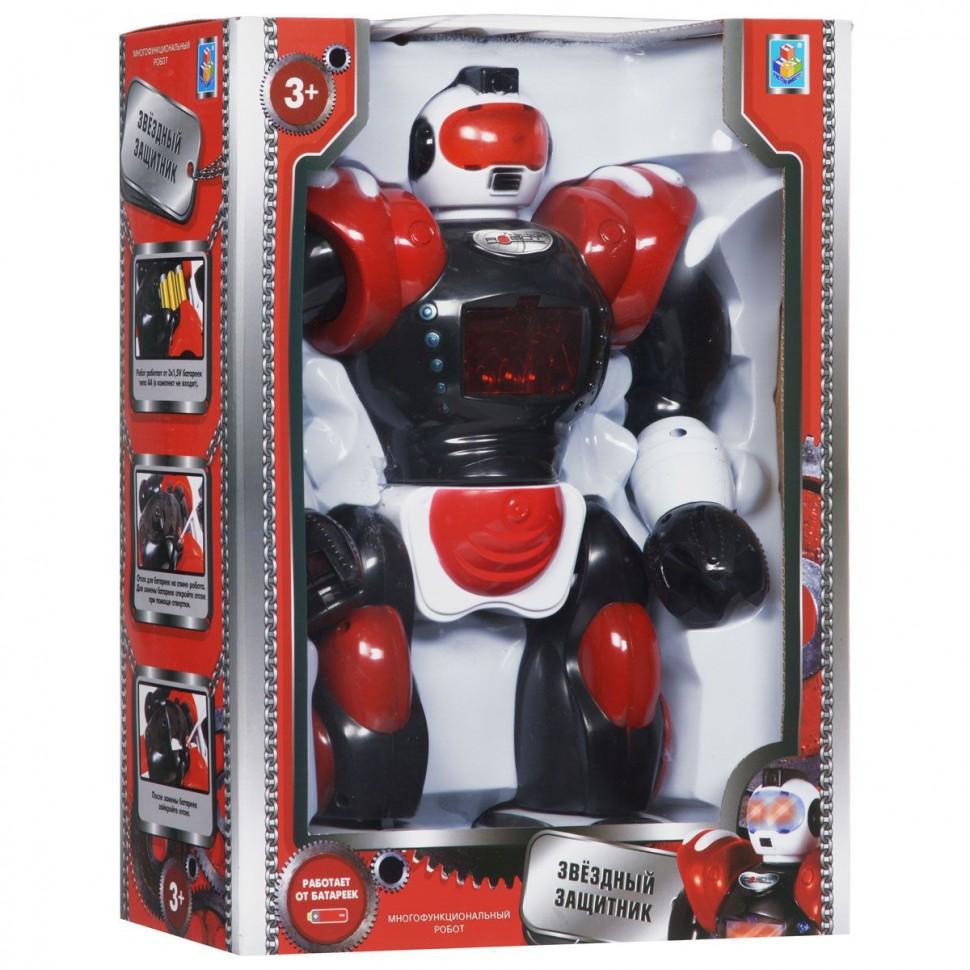 АКЦИЯ-20 Игр Робот Звездный защитник свет, звук, батар.