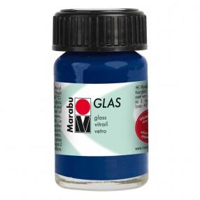 Краска для витража Glas ночной синий 15мл