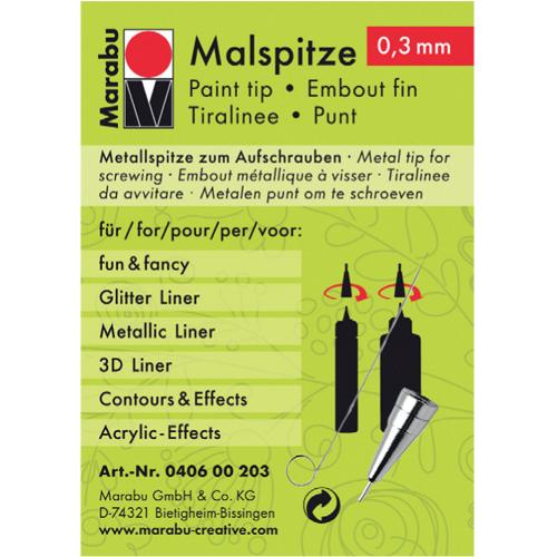 Наконечник металлический Malspitze 0,3мм