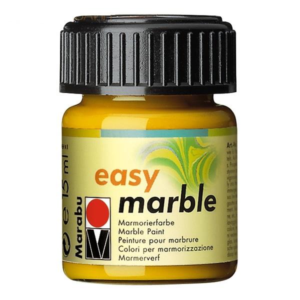 Краска для мармарирования Easy Marble золото 15мл
