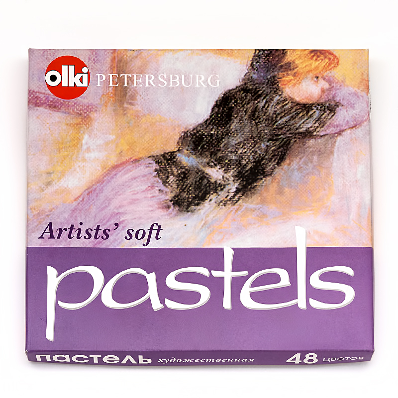 Пастель сухая 48цв художественная Портрет