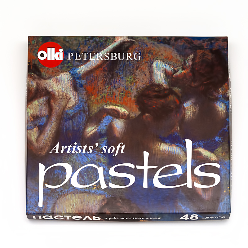 Пастель сухая 48цв художественная Ассорти