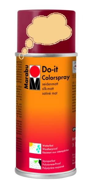 Краска аэрозольная Marabu Do It песок 150мл