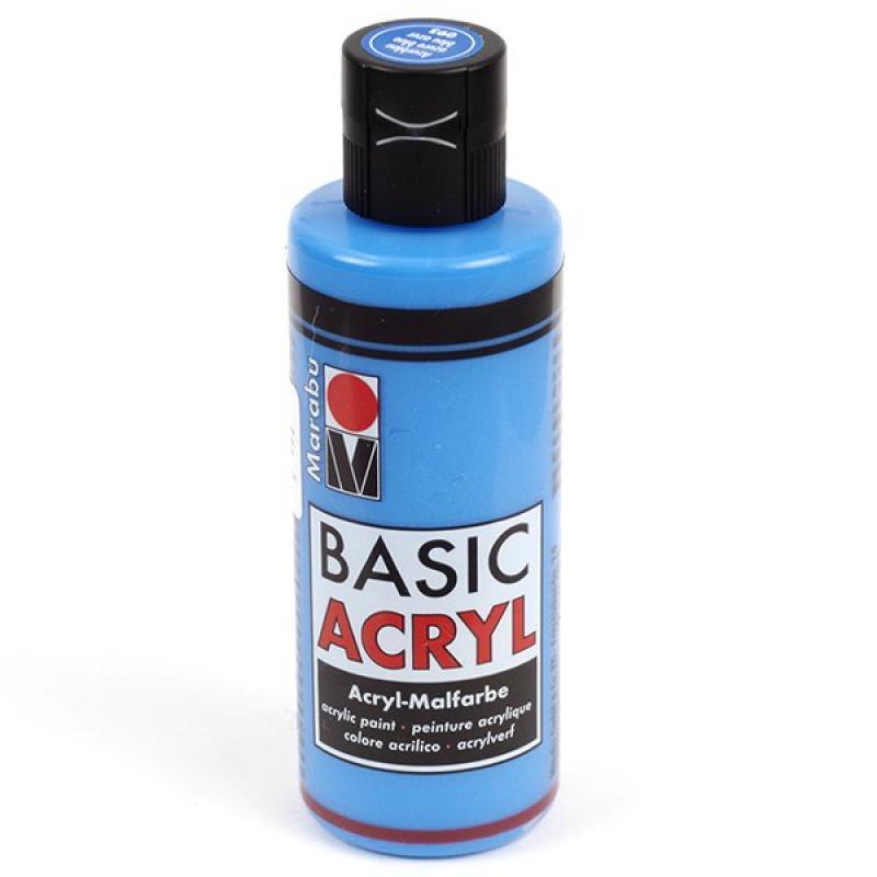 Акрил Basic Acryl небесно-синий 80мл